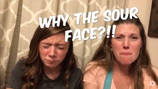 🔴Why The Sour Face!!! Warhead Challenge! Taste Something Tuesday