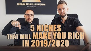 5 Niches That Will Make You Rich In 2019/2020 As An Online Coach