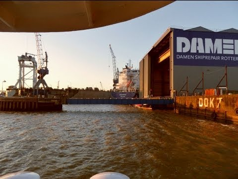 Schiedam Damen Shipyard 24 hrs in 5 minutes.