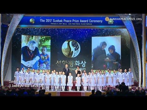 The prayer (Ms. Kolleen Park & Mr. Jaerim Choi & The Little Angels)_The 2017 Sunhak Peace Prize