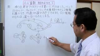 小学校6年生だ学習する、組み合わせについて説明してみました。 学年別...
