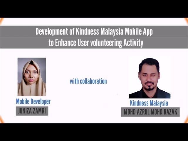 Kindness Malaysia Mobile App