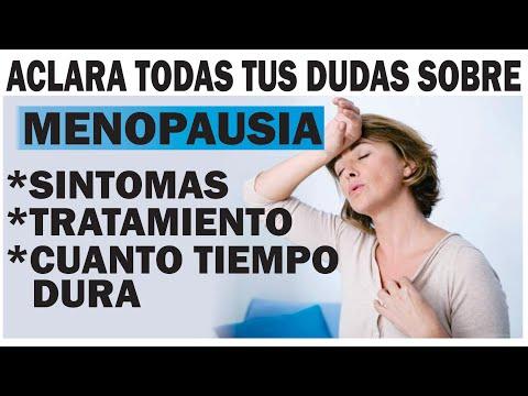 menopausia sintomas y cuanto dura