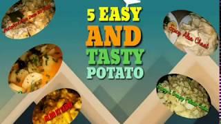 5 Easy & Tasty Potato Recipes | Spiced Foods