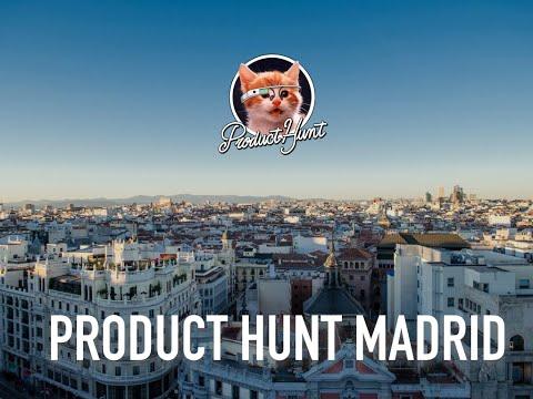 Product Hunt Madrid | CityMapper & Graphext | Campus Madrid