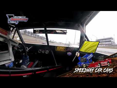 #24 Trevor Icenhower - Street Stock - 4-6-19 I-44 Speedway - In Car Camera