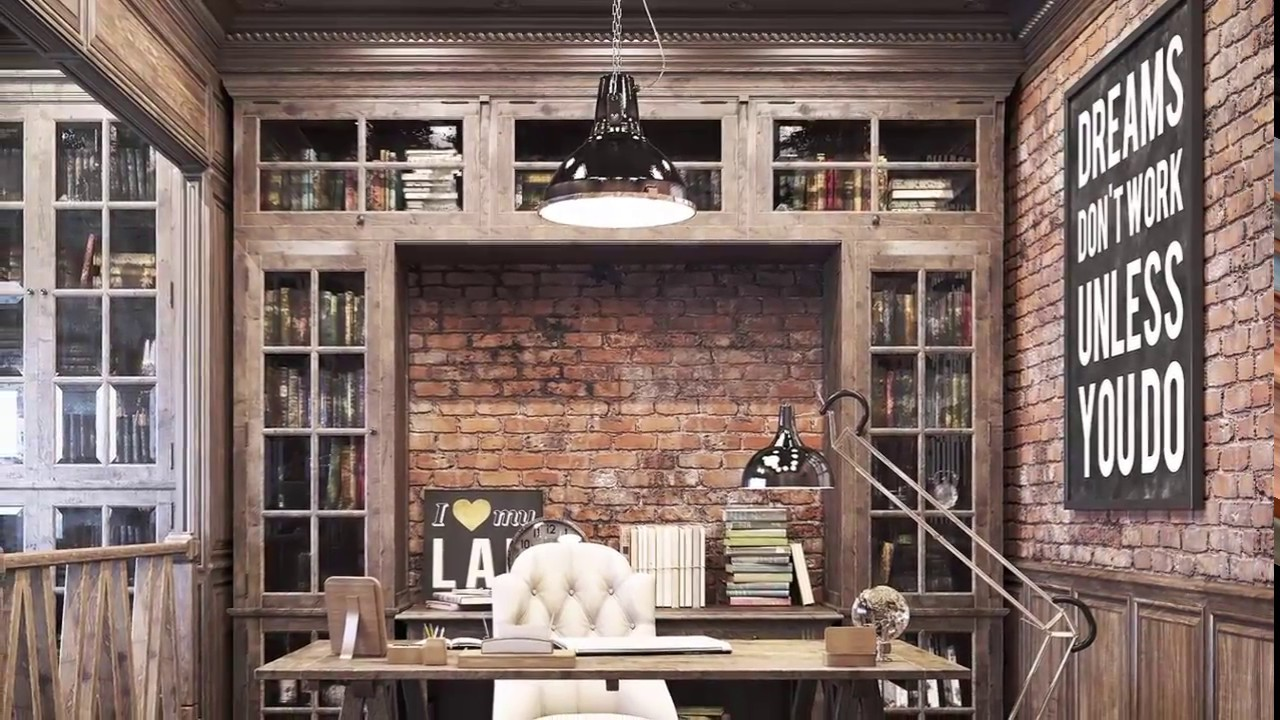 10 Awesome Inspiration Home Office Design Ideas Youtube
