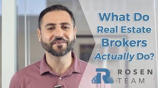 New York Real Estate: What Does a Real Estate Broker Really Do?