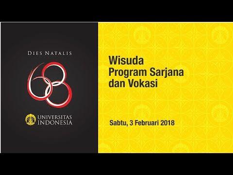 Wisuda UI Program Sarjana & Vokasi Semester Gasal 2018