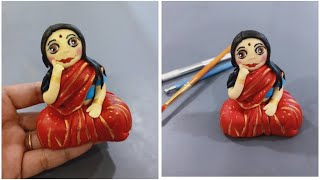 Lady in Saree Topper | Mom topper | Indian Mom topper