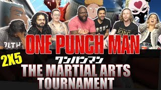 One Punch Man - 2x5 The Martial Arts Tournament - Group Reaction