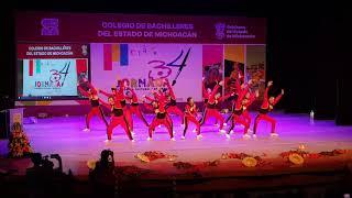 1er Lugar Baile Moderno, Plantel Huetamo, Paz.