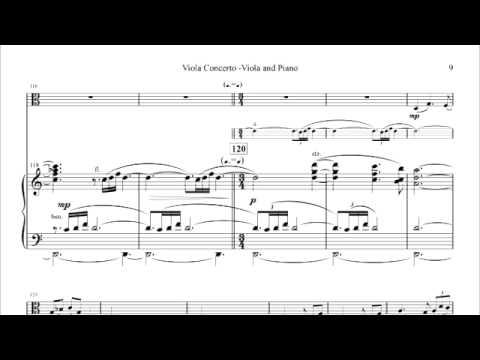 Powers; Viola Concerto--I. Andante