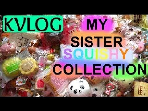 Thumbnail: MY SISTER SQUISHY COLLECTION - IMPERSONATING #KVLOG17