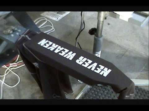 How To Screen Print Tee Shirts Sleeves Amp Ribbed Tank Tops
