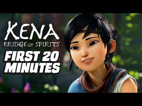 Kena: Bridge of Spirits First 20 Minutes 4K Gameplay
