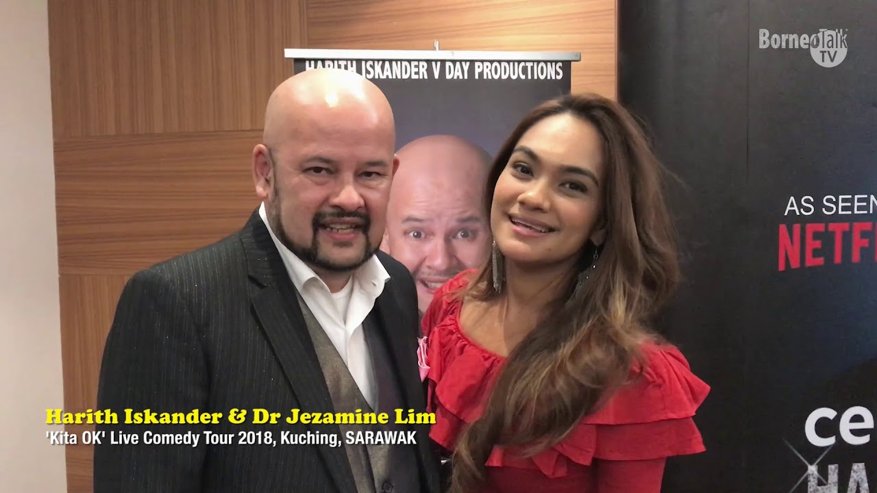 Harith Iskander Dr Jezamine Lim Shoutout Youtube