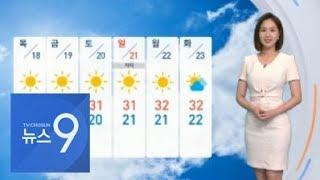 [날씨] 무더위 계속…미세먼지 주의하세요