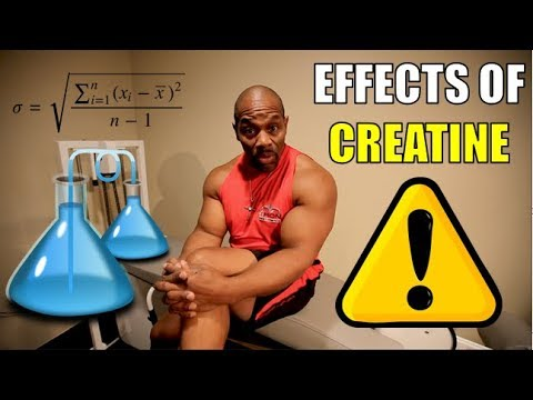 Does CREATINE have any Negative Side Effects?