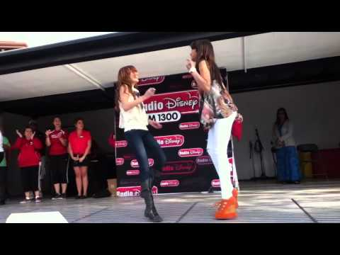 Bella Thorne and Zendaya dancing 2011