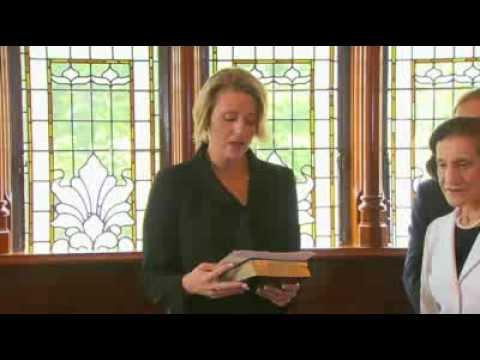 Premier Keneally sworn in