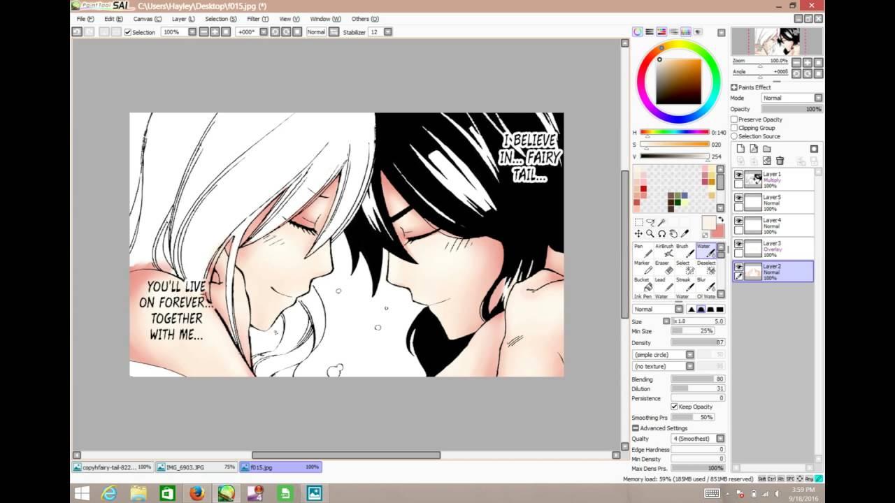 Mavis and Zera Manga Cap Coloring - YouTube