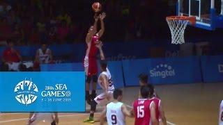 Basketball Men's Preliminary - Vietnam vs Singapore (Day 5) | 28th SEA Games Singapore 2015