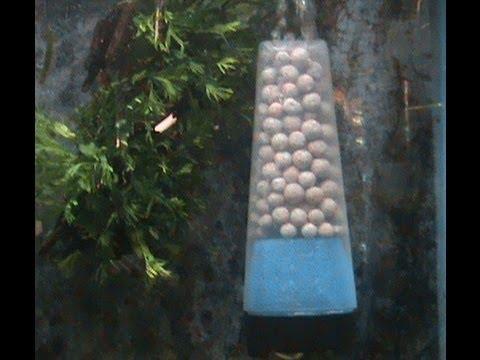 Excellent diy aquarium moving bed filter by pondguru youtube for Diy bio balls