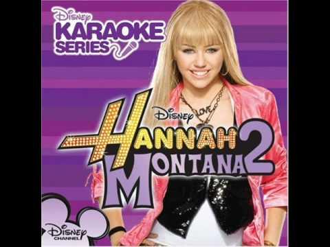 Hannah Montana - Rockstar Karaoke Version from Sing Along CD HQ Sound with Lyrics