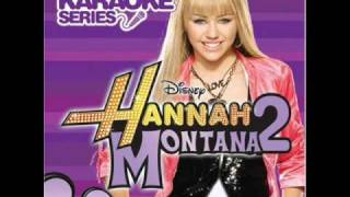 Hannah Montana - Rockstar Karaoke Version from Sing Along CD HQ Sound with Lyrics