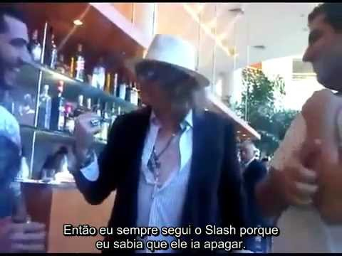 Axl Rose conta histórias dele e do Slash (LEGENDADO) – 2011