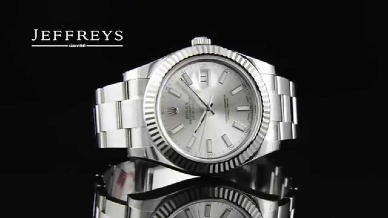 Rolex Oyster Perpetual Datejust Ii Stainless Steel Silver