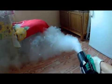 "Обработка квартиры ""Сухим туманом"" от запаха табака. КрасФог"