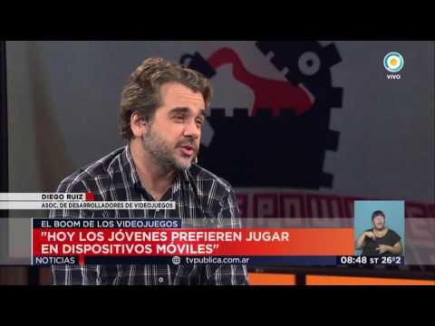 TV Pública Noticias - El boom de los videojuegos argentinos: Diego Ruiz