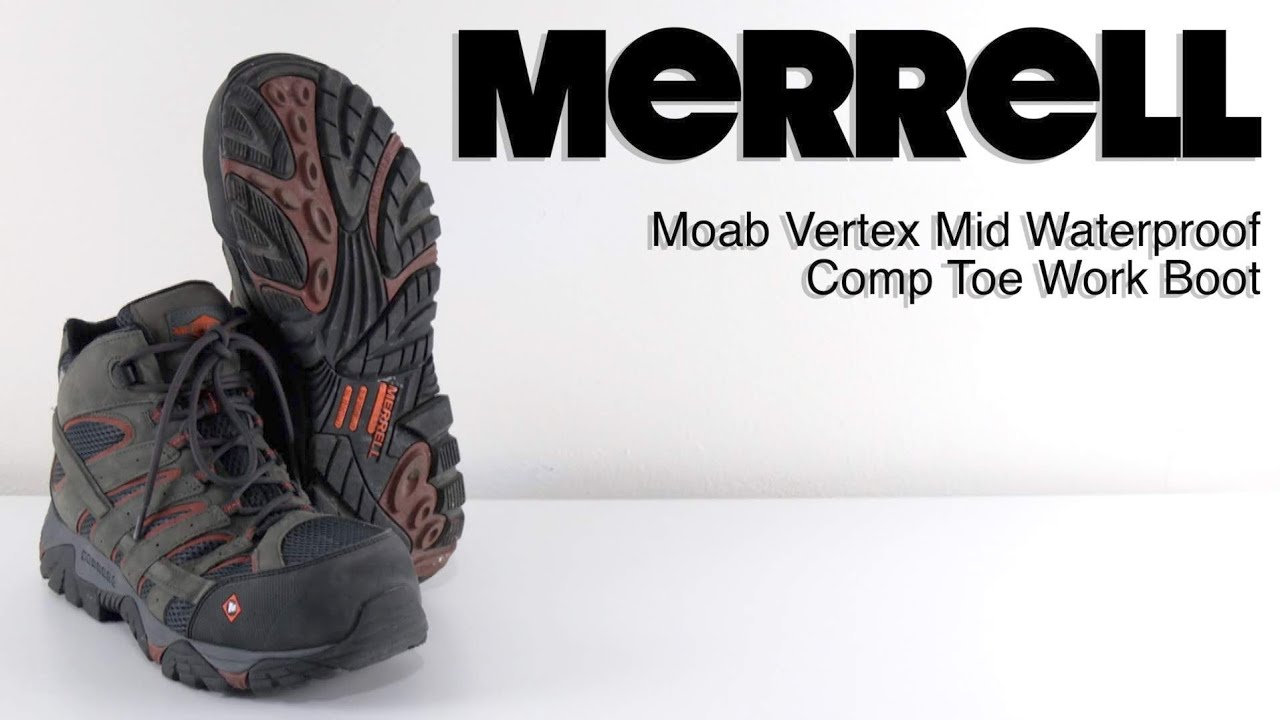 2d1c27e0df MERRELL Moab Vertex Mid | The Boot Guy Reviews | Summer Boots