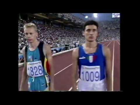 4084 Olympic Track & Field 1992 3000m Steeplechase Men