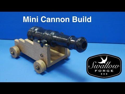 Homemade Blackpowder Mini Cannon