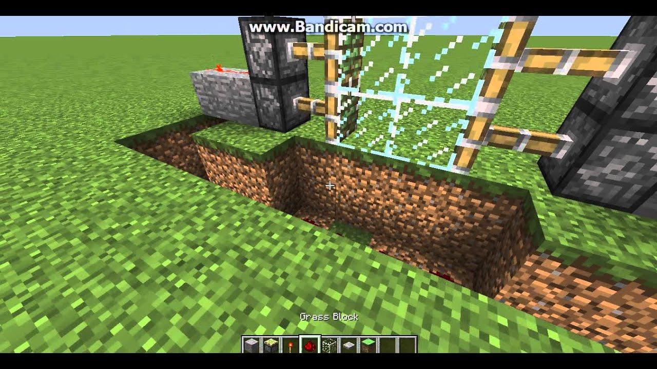 Hoe Maak Ik Een Schuifdeur.Minecraft Hoe Maak Je Een Schuifdeur Dutch Youtube