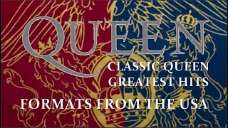 421 Classic Queen And Greatest Hits Formats From The USA 1992