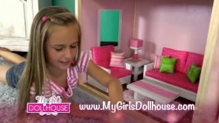 American Girl Dollhouse - My Girls Dollhouse - First AFFORDABLE 18 Inch Dollhouse