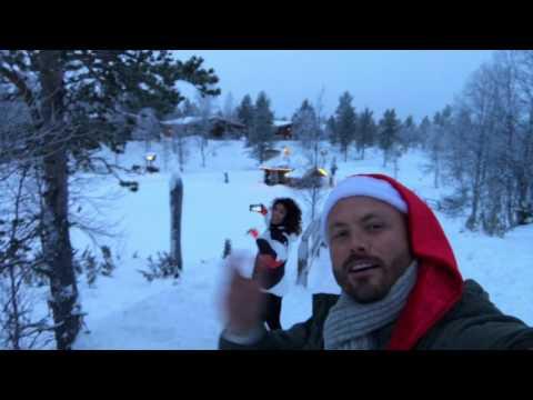 Kakslauttanen Arctic Resort, Ivalo Finland | Christmas 2016