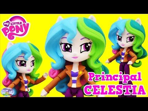 CUSTOM My Little Pony Celestia Equestria Girls DIY Tutorial Surprise Egg and Toy Collector SETC