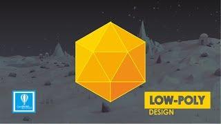 Tutorial Design Low Poly - CorelDraw Design (Beginner)