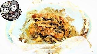 きんき鯛と海の幸・包み焼き Red snapper seafood baked in wrap【ラファエルクッキング Raphael cooking】