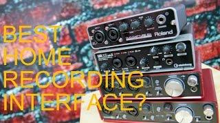 HOME RECORDING INTERFACES: 2i2 vs 2i4 vs UR22 vs Duo Capture