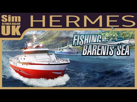 Hermes Deep Sea Trawler First Look | Fishing Barents Sea (Pre-Release)