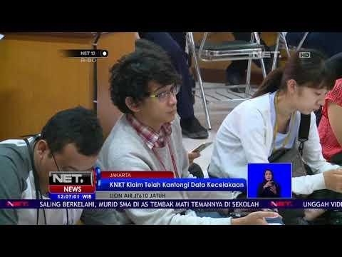 Tim Sar Gabungan Masih Belum Temukan Black Box Lion Air JT 610   NET12 Mp3