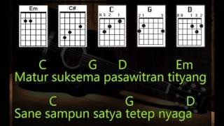 Gambar cover Lolot-Pasawitran Bali Rockers [Lirik & Chord_Kunci Gitar]