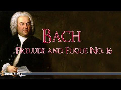 Bach: Prelude and Fugue No 16 (Cembalo and Piano: Carlo Balzaretti) |  Classical Music