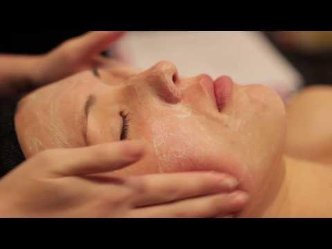 Facial cleanse and exfoliate ASMR soft spoken
